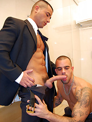 Dirty Caballeros stars David Dirdam and Damien Crosse
