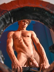 Hard fuck after gloryhole blowjob. Austin Merrick and Connor Maguire