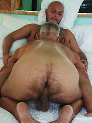 Daddy Jeff is paired with horny Latin stud Tony Rivera