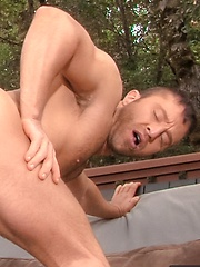 Adam Champ makes blowjob