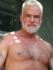 Silver Daddy Jake Marshall and Super Hairy Hunk Marco Rios