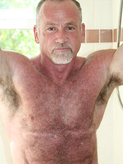 Muscle Bear Daddy Mickie Collins