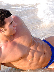 Fantasically ripped, muscled and hot Tony Da Vinci
