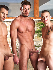 Toby Dutch Fucks Bareback with James Jones and Zboy 25
