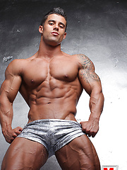 21 years old, bodybuilder Santi Aragon works as a fitness model and personal trainer