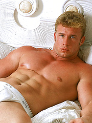 Farm boy from Texas bares his muscled body