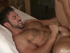 Gay anal pairing in the hotel room