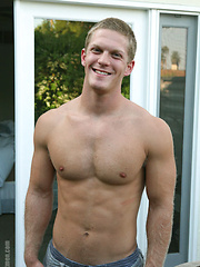 Hot college stud naked