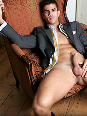 Hunk takes off his suite